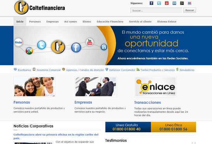 Coltefinanciera - Compañía de financiamiento